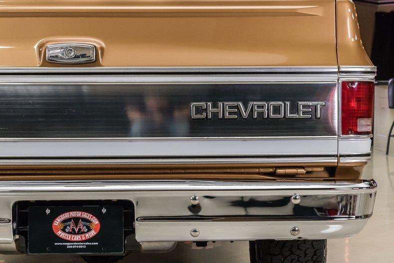 1979 Chevrolet Blazer 38