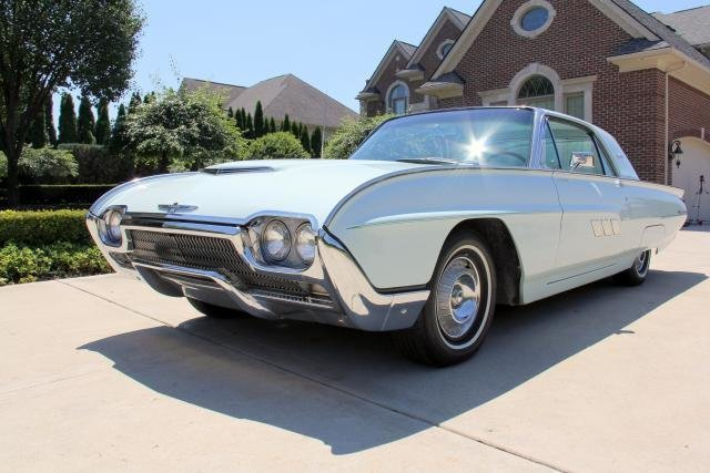1963 Ford Thunderbird Classic Cars For Sale Michigan Muscle Old