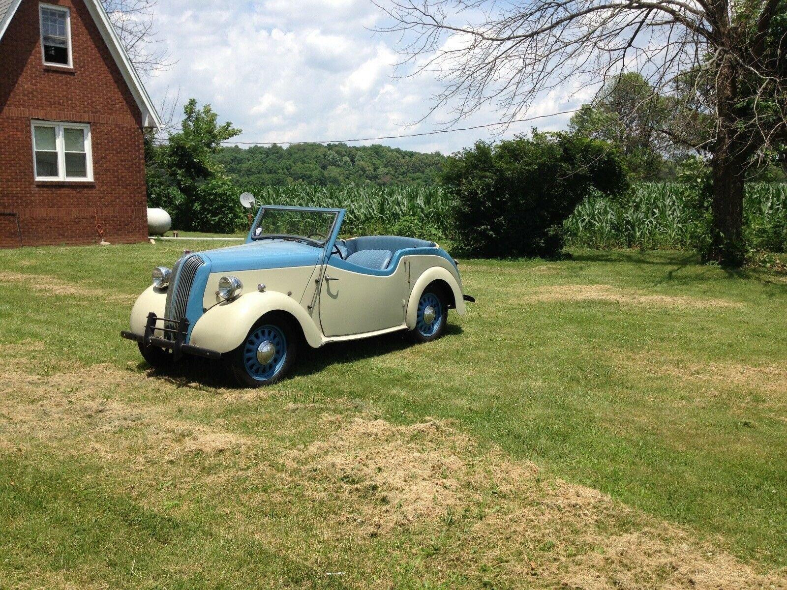 1947 Triumph Standard Convertible