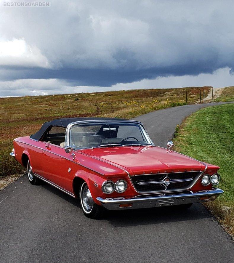 1963 Chrysler 300 Series 2 Door Convertible For Sale