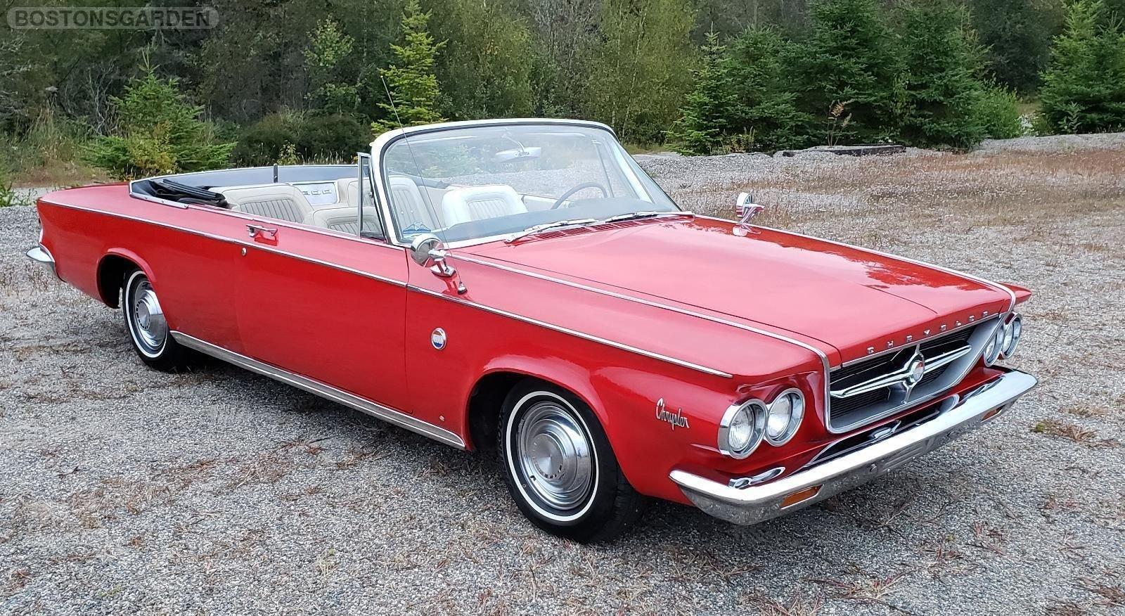 1963 Chrysler 300 Series 2 Door Convertible