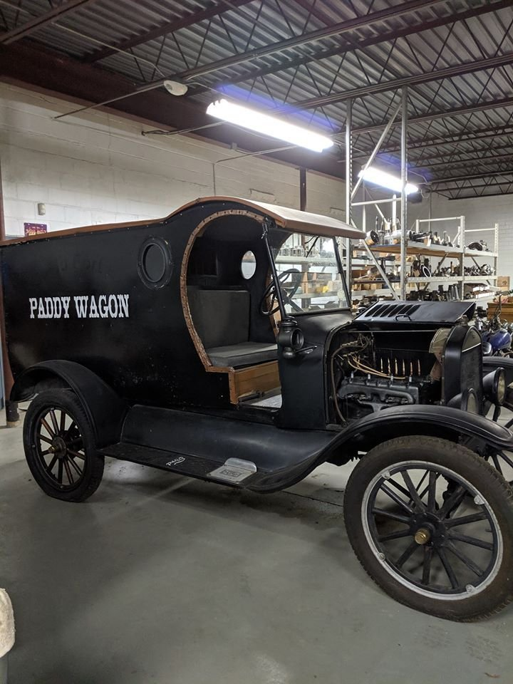 1925 Ford Paddy Wagon