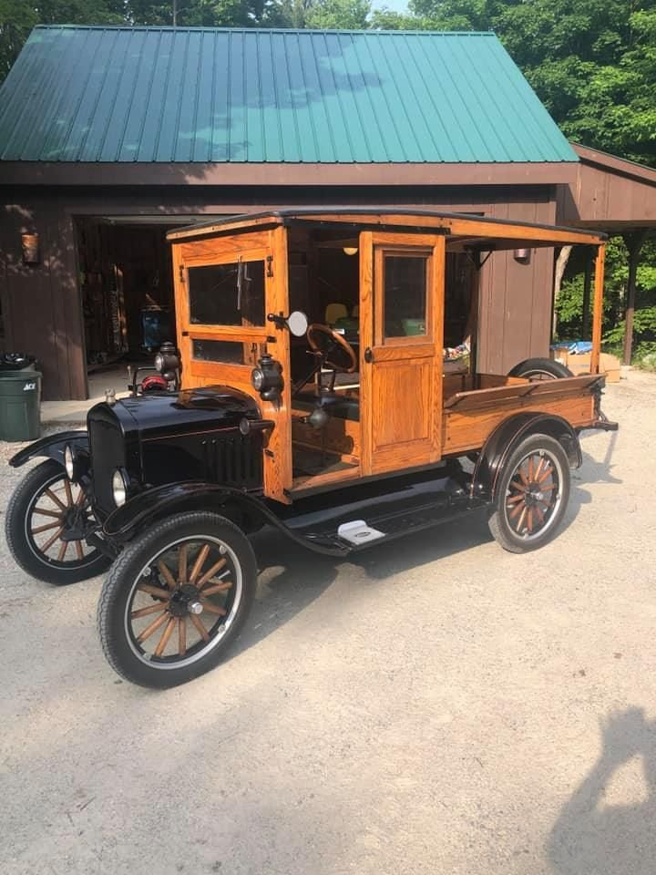 1924 Ford Huckster