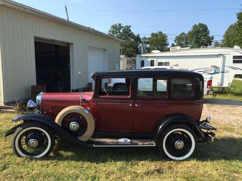 1931 Chevrolet 4-door sedan