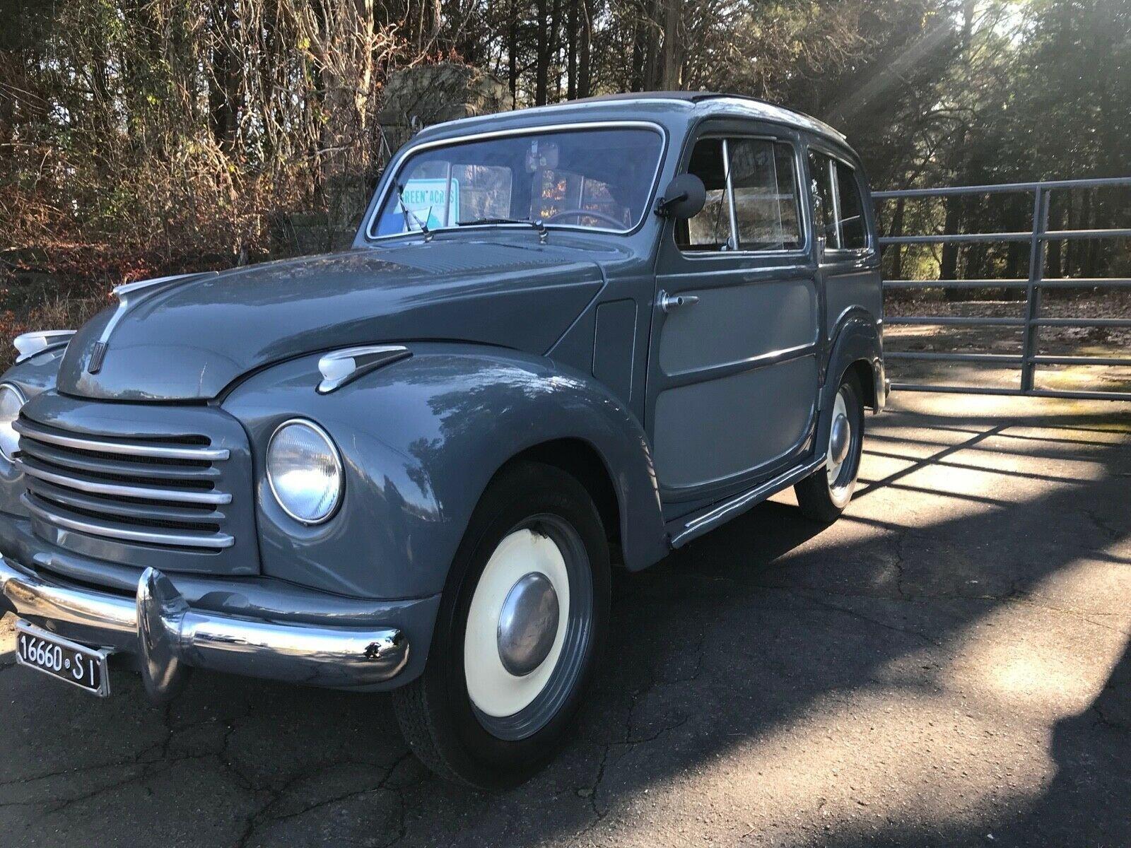 1954 Fiat 500 C