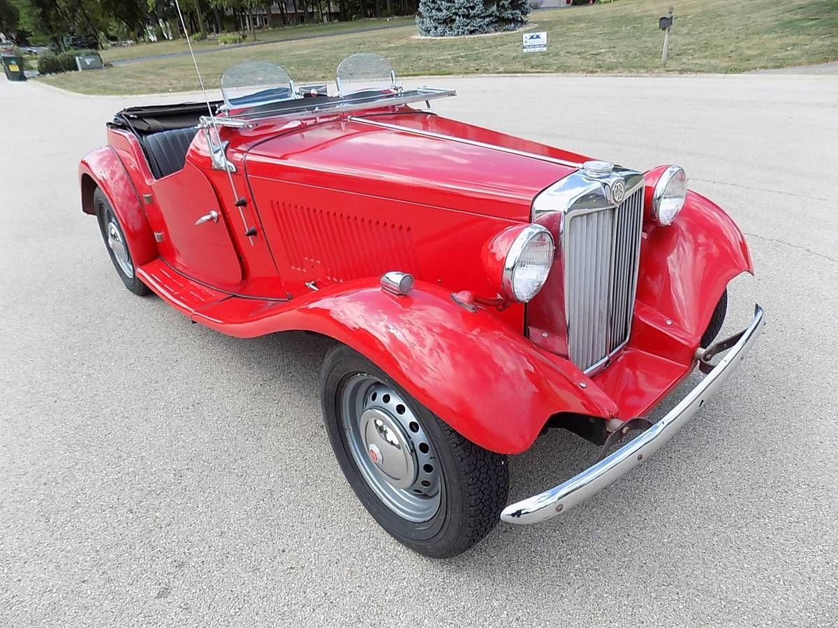 1952 MG TD Limited