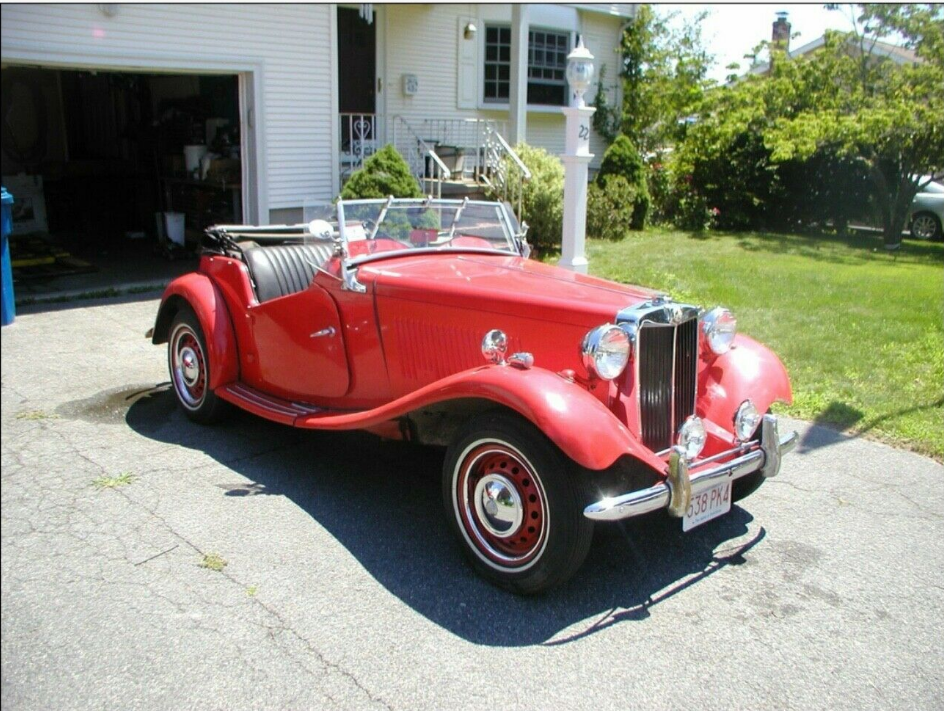 1953 MG T-Series.