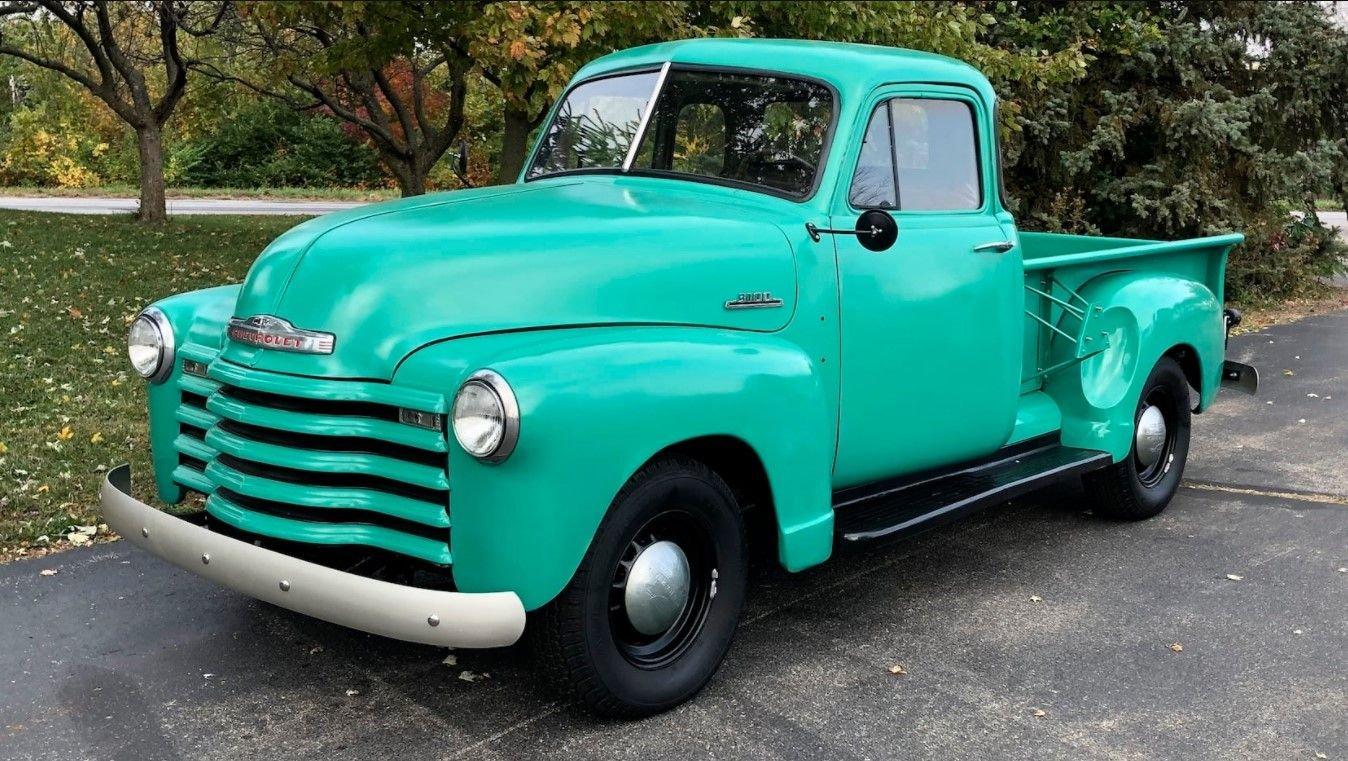 1953 Chevrolet 3100 5 WINDOW PICKUP