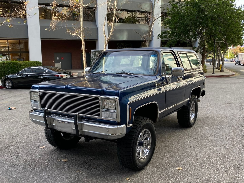 1980 Chevrolet K5 Blazer
