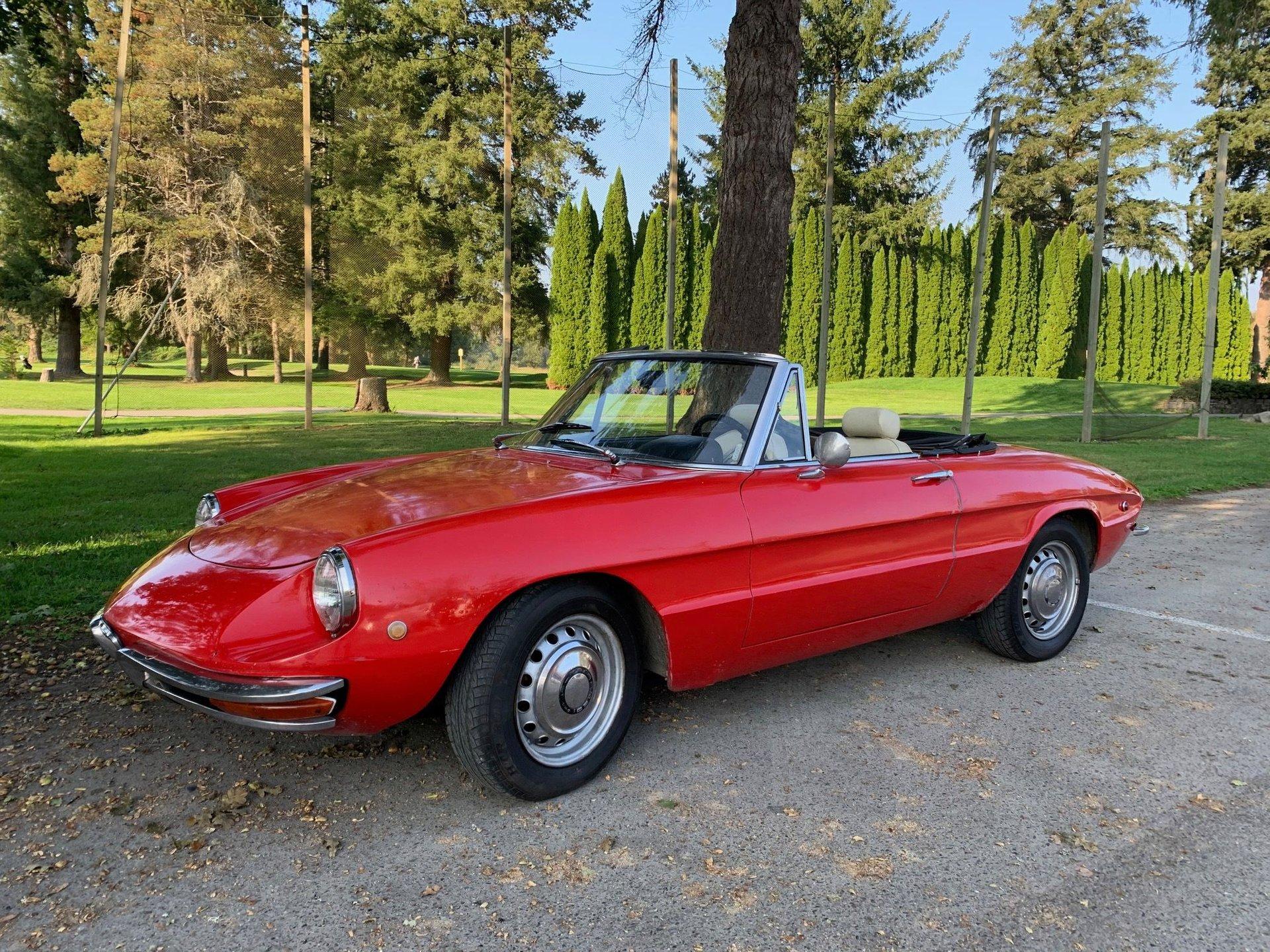 1969 Alfa Romeo Spider Veloce