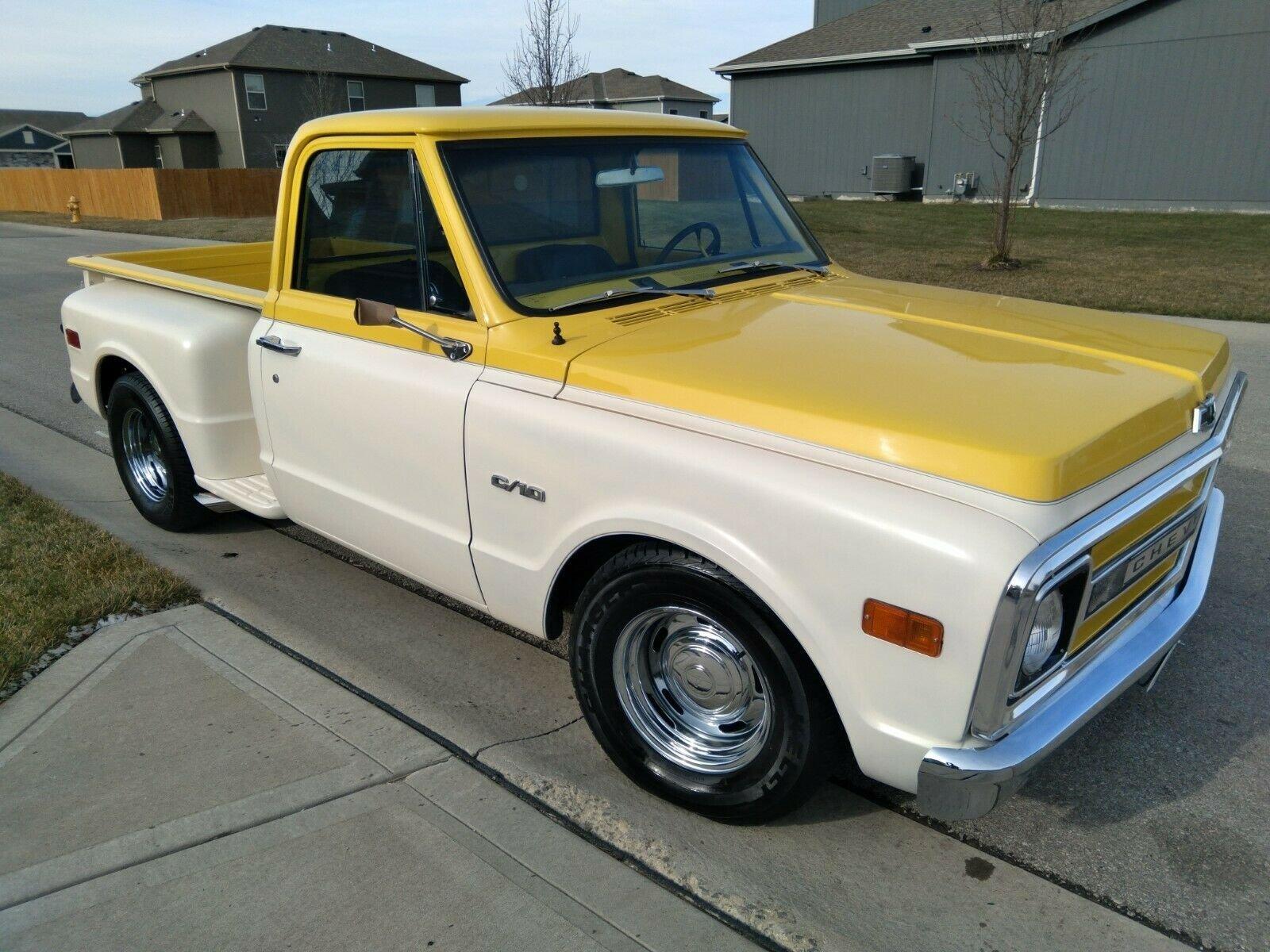1970 Chevrolet C10 Shortbed Stepside