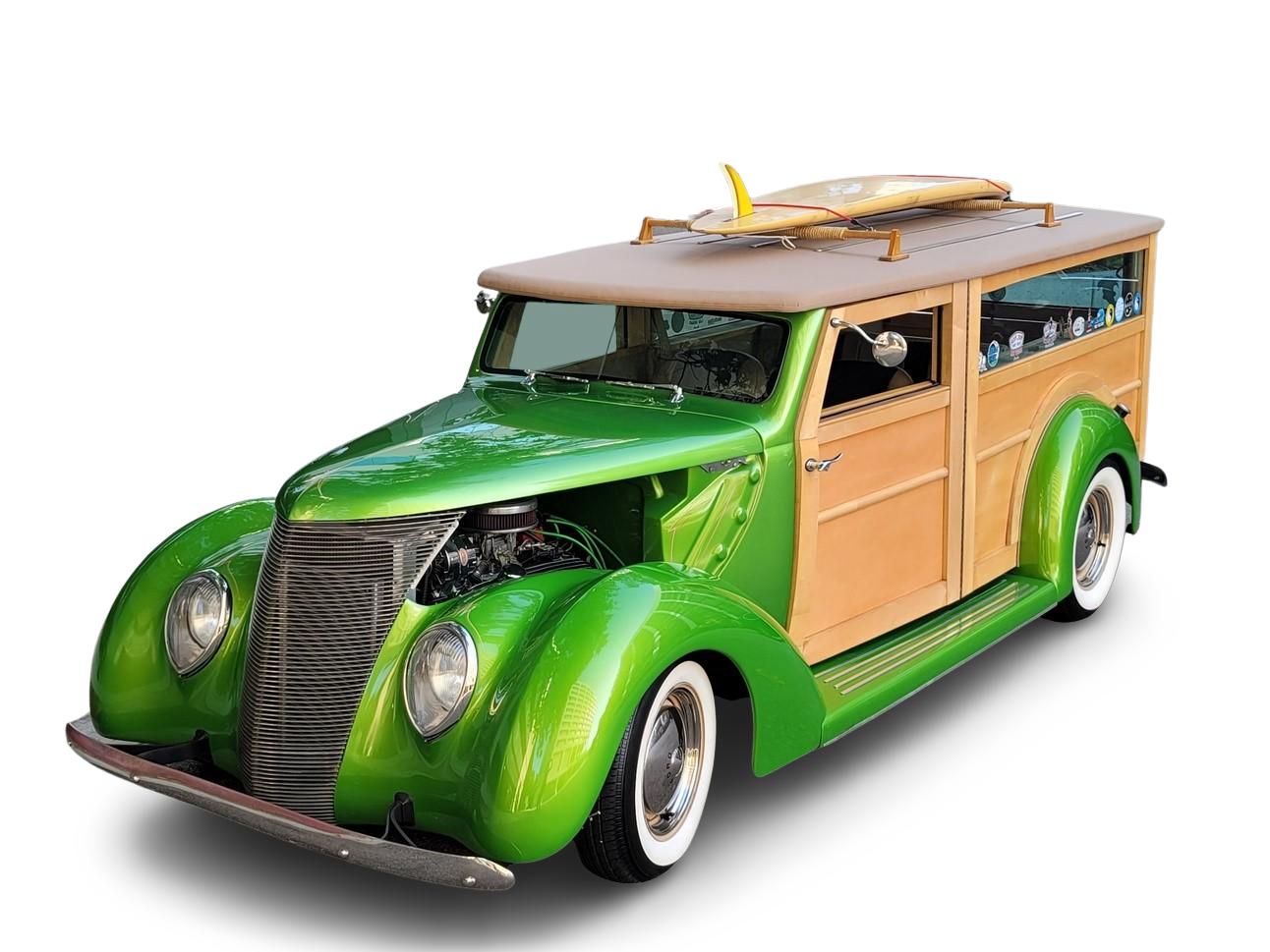 1937 Ford CUSTOM WOODY WAGON