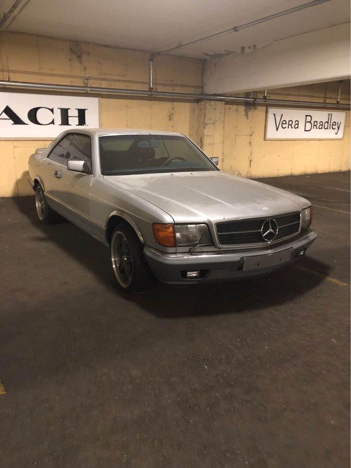 1983 Mercedes-Benz 500 SEC