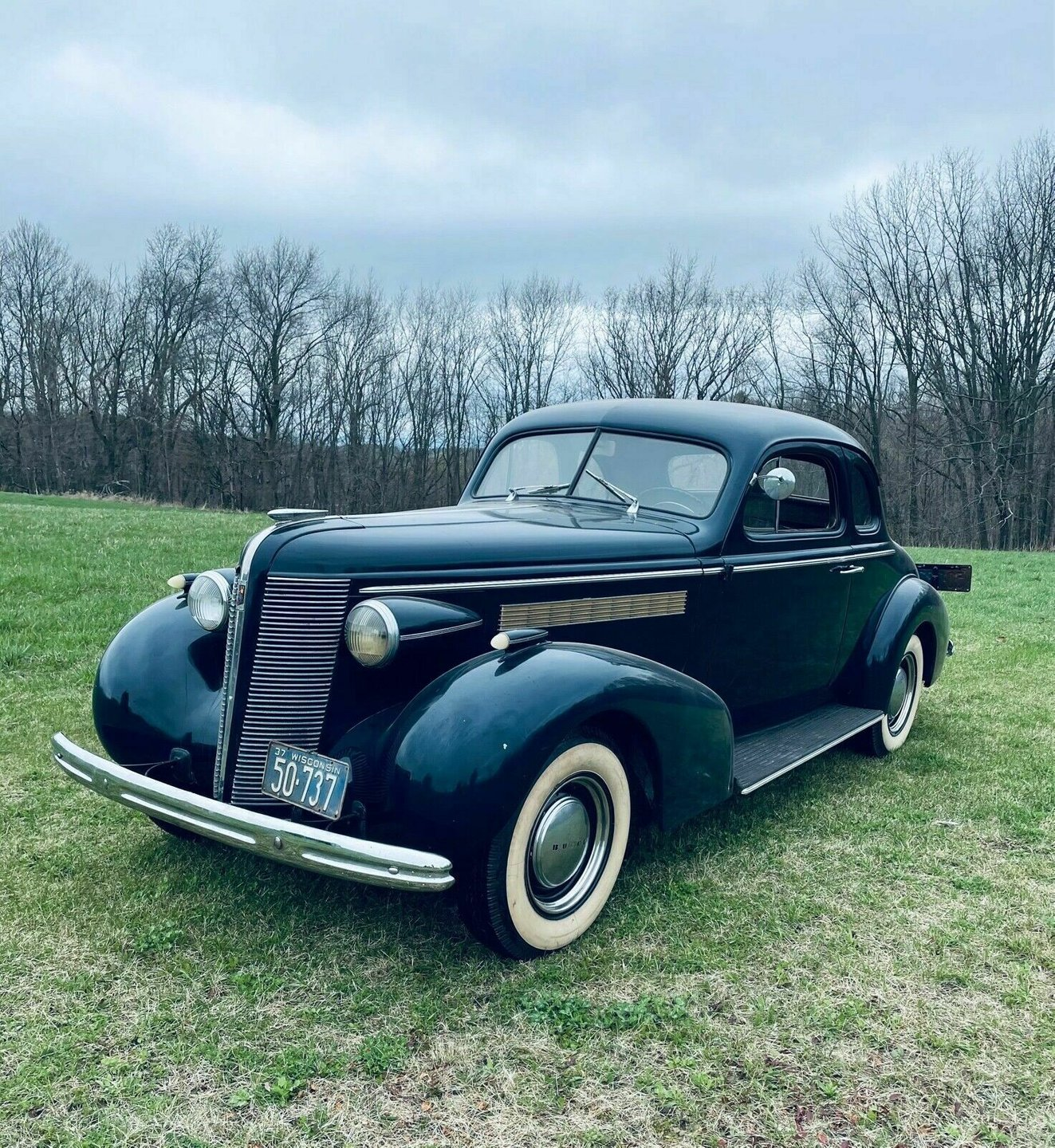 1937 Buick 46 Special Business Coupe
