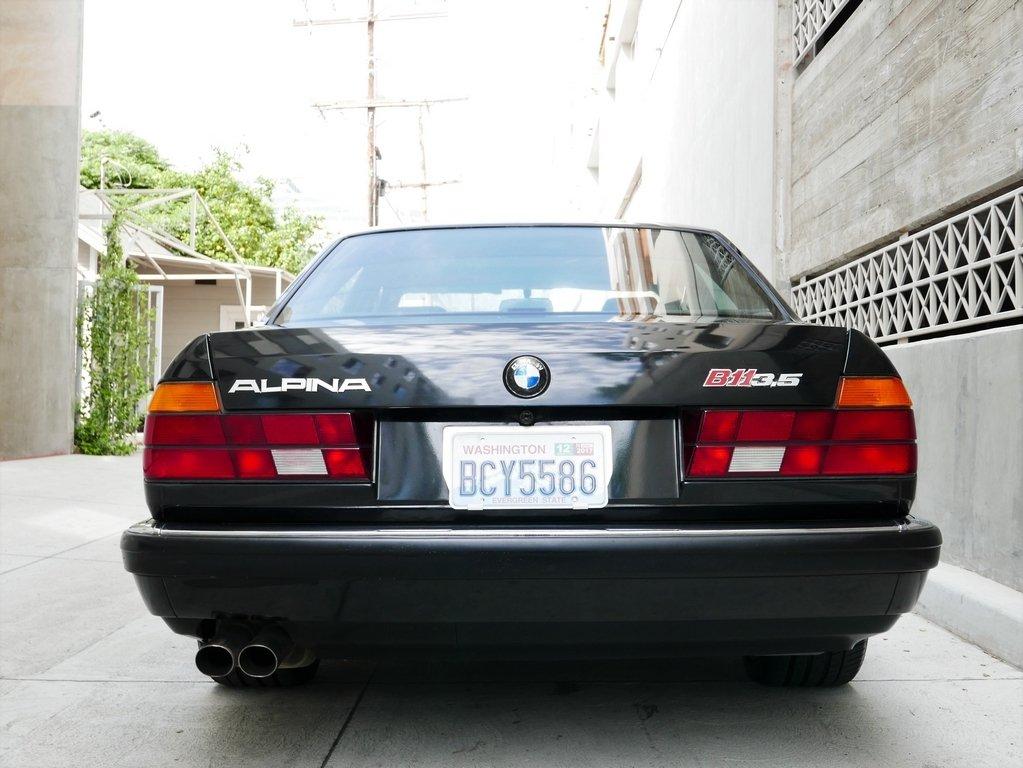 1988 Bmw 7 Series Vintage Car Collector
