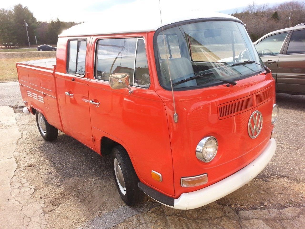 1971 Volkswagen Crew Cab Pick-Up Truck