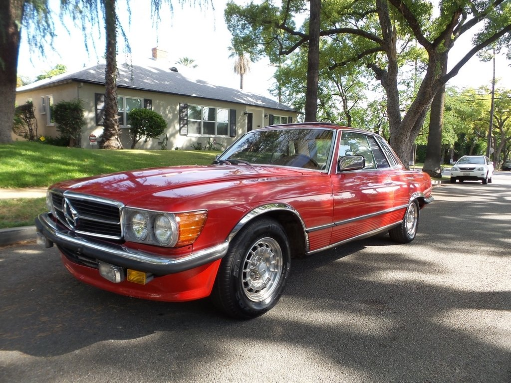 1973 Mercedes-Benz SLC 350 EURO