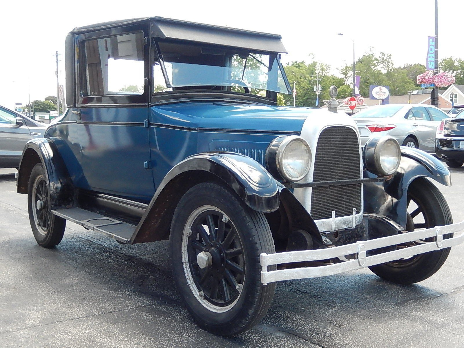 1927 Whippet Willys 3-Window Coupe