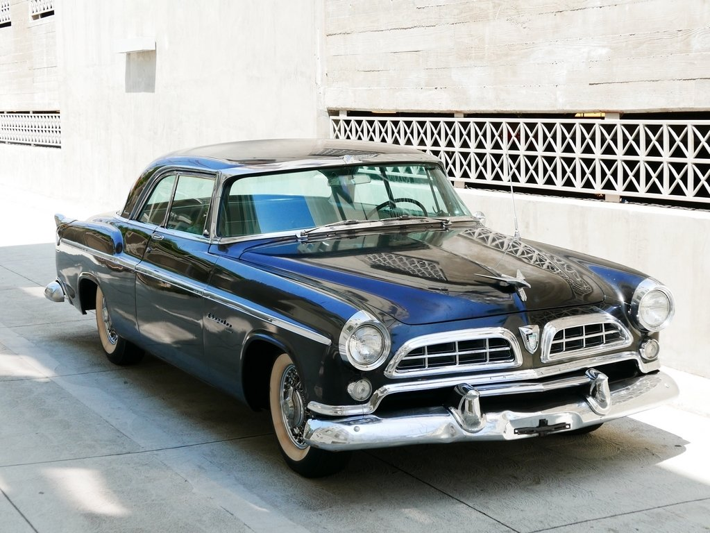 1955 Chrysler Windsor Deluxe Nassau Coupe