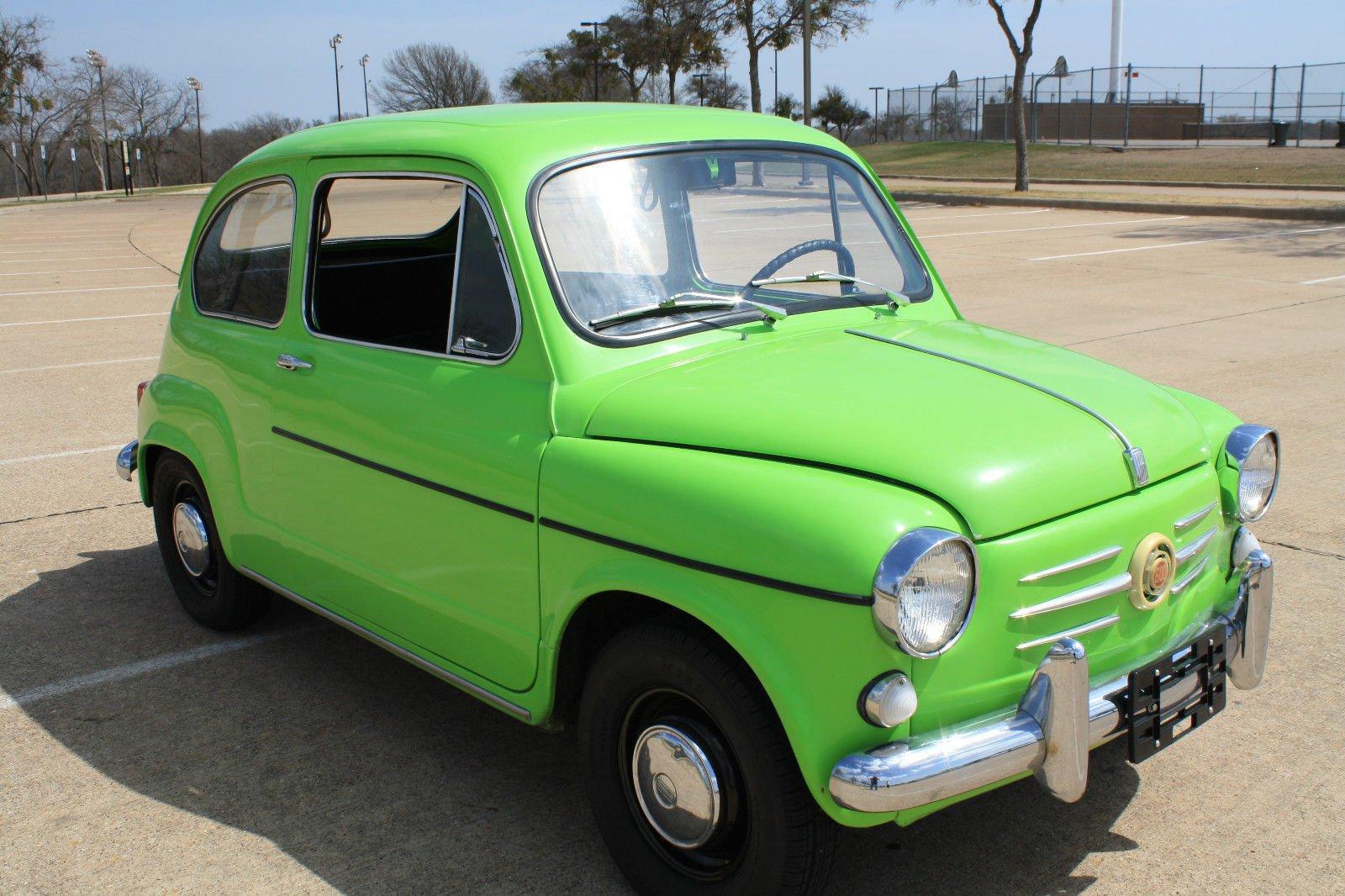 1966 Fiat 600 D