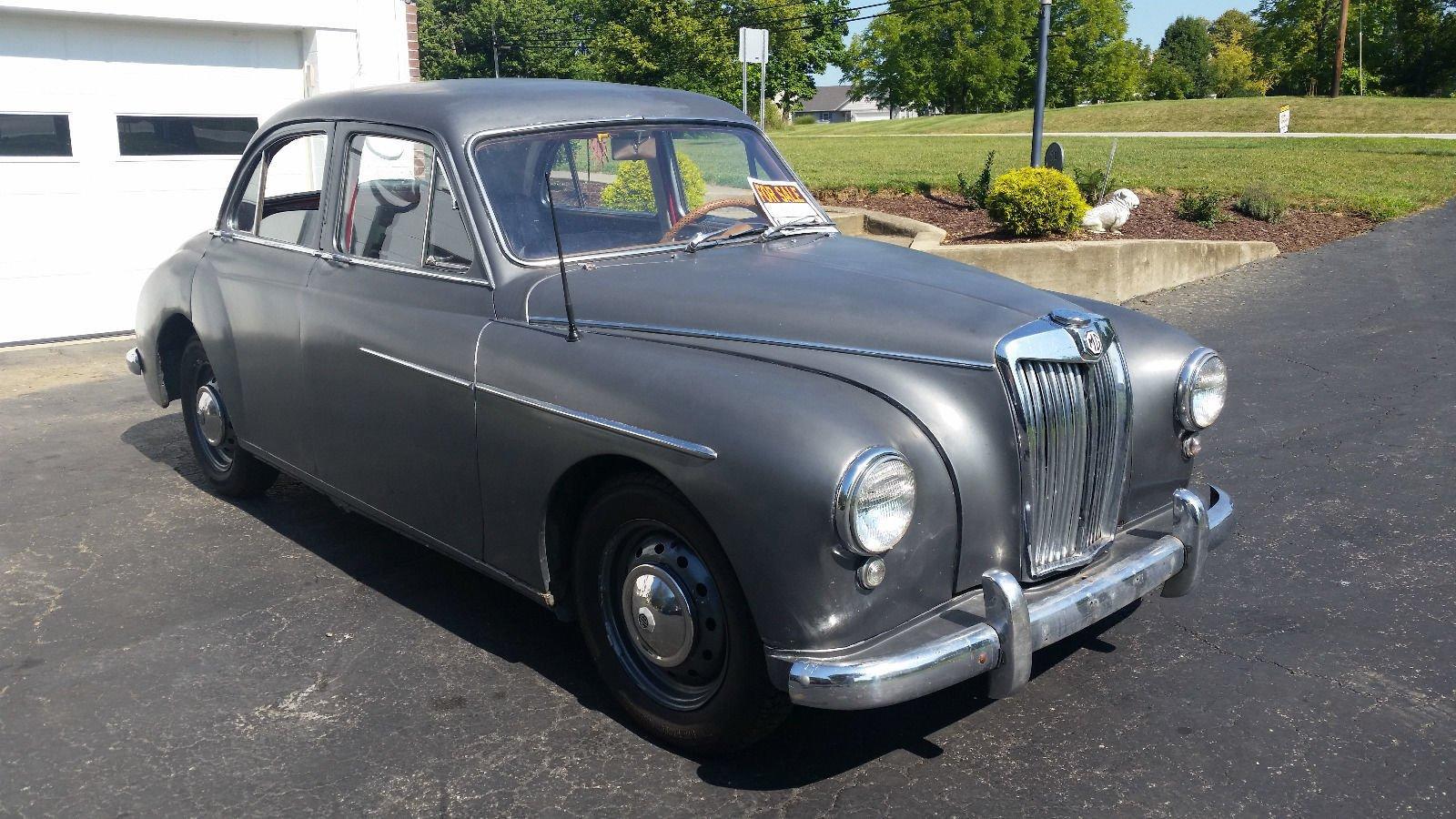 1958 MG ZB MAGNETTE