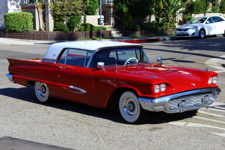 1959 Ford Thunderbird Vintage Car Collector