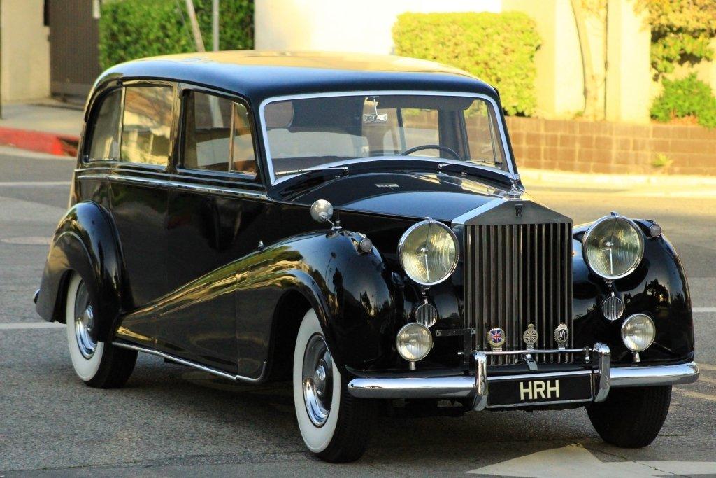 1954 Rolls-Royce Silver Wraith Park-Ward Limousine