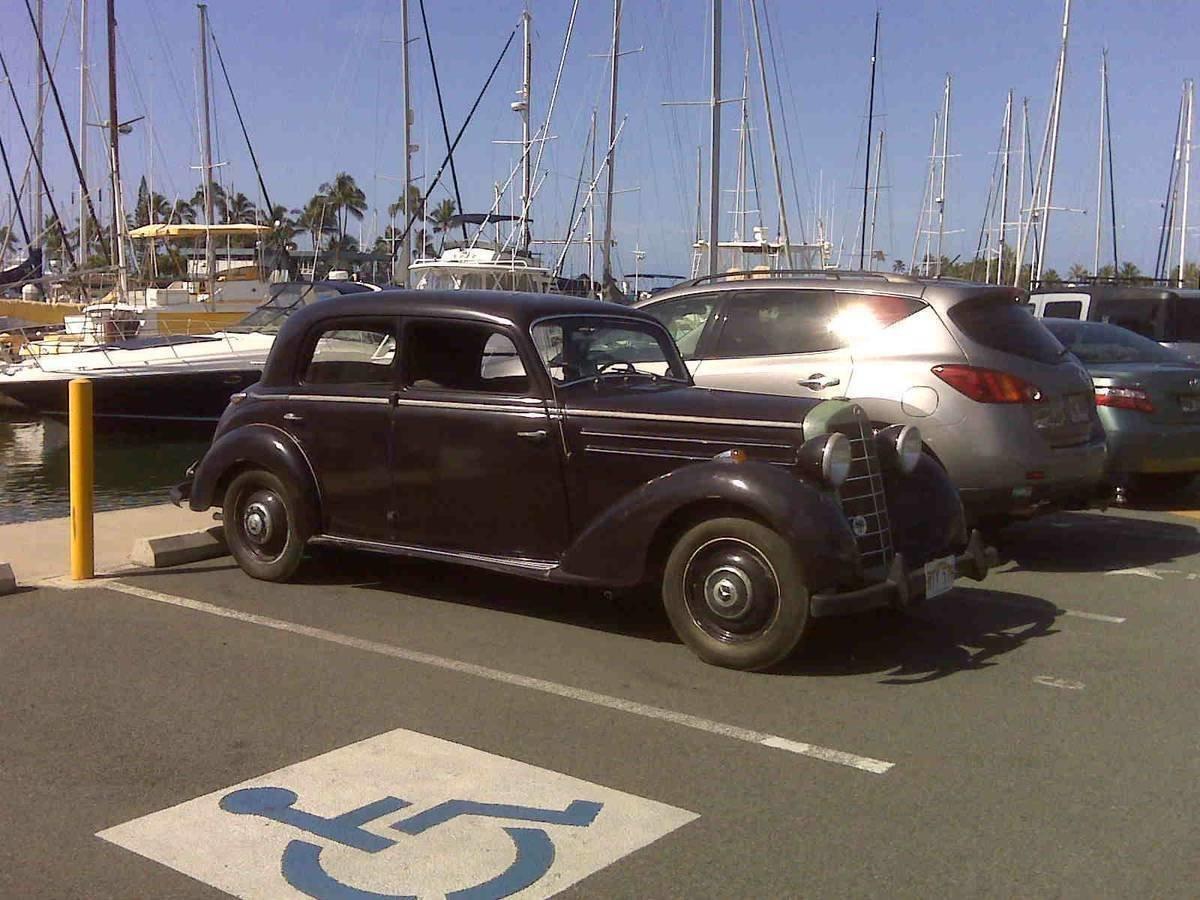 1953 Mercedes-Benz 170 S-V