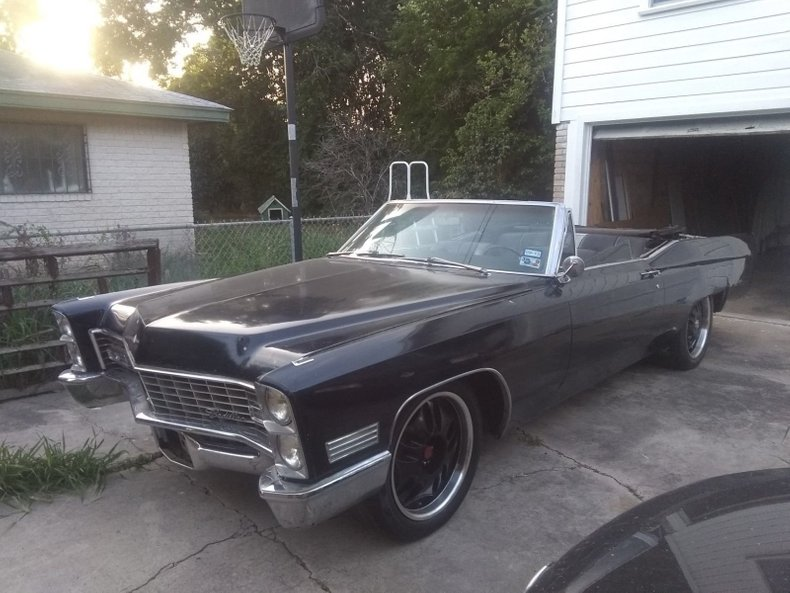 1967 Cadillac Deville For Sale