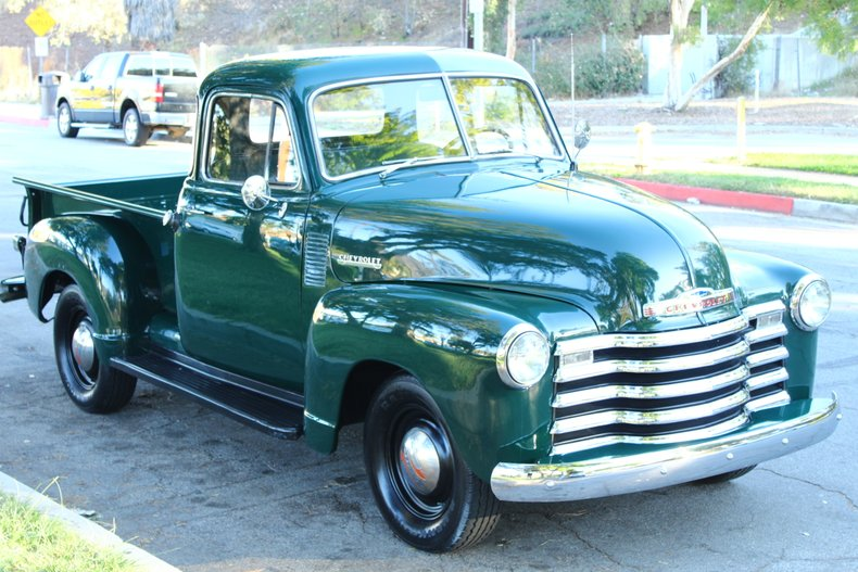 1951 Chevrolet 3100 5 WINDOW PICKUP For Sale