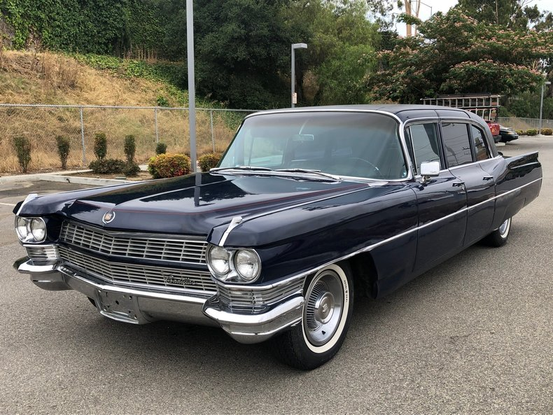 Cadillac Fleetwood For Sale >> 1965 Cadillac Fleetwood Limo Series 75 For Sale 127430 Mcg