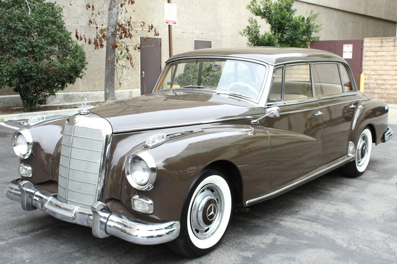 1960 Mercedes-Benz Adenauer 300d W189 For Sale