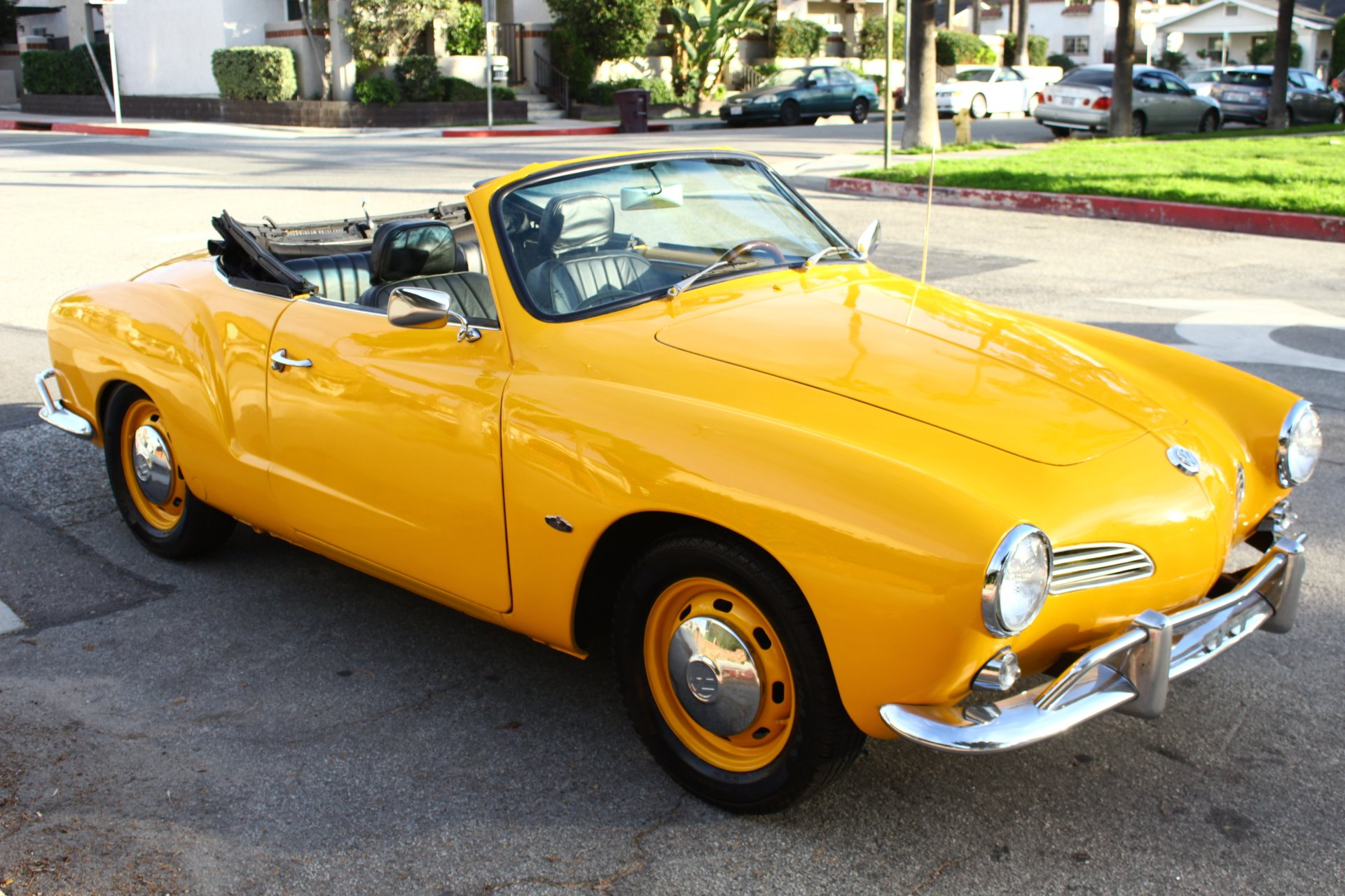 1966 Volkswagen Karmann Ghia Vintage Car Collector