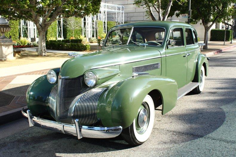 1939 Cadillac Sedan For Sale