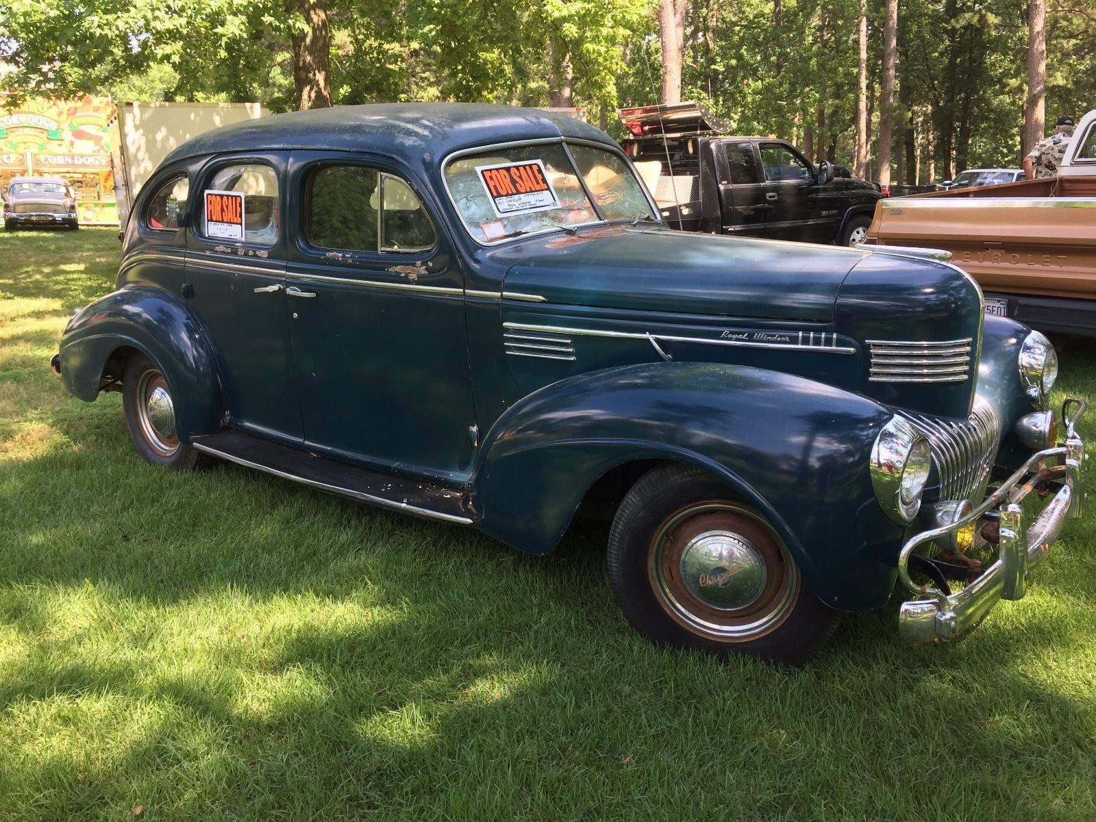 1939 Chrysler Windsor