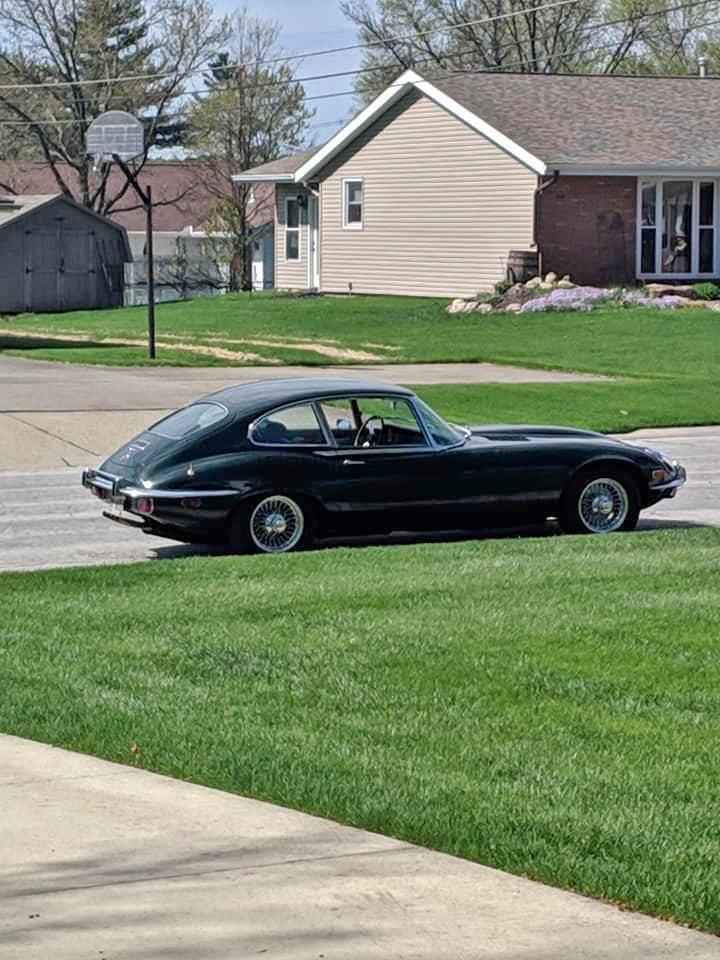 1972 Jaguar E-Type 2+2