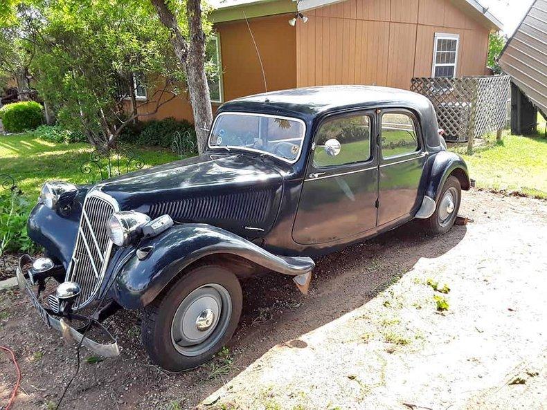 1955 Citroen Traction Avant For Sale