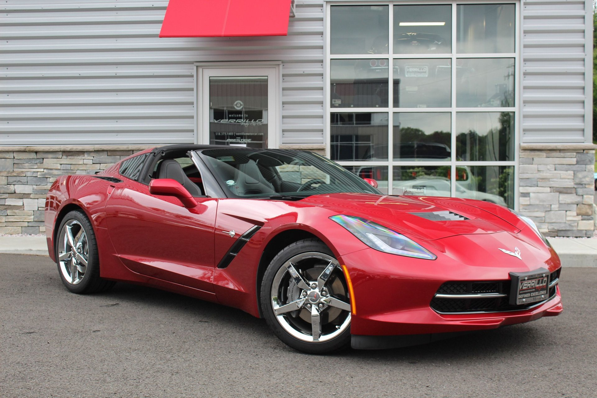2014 chevrolet corvette stingray 2dr cpe w 1lt