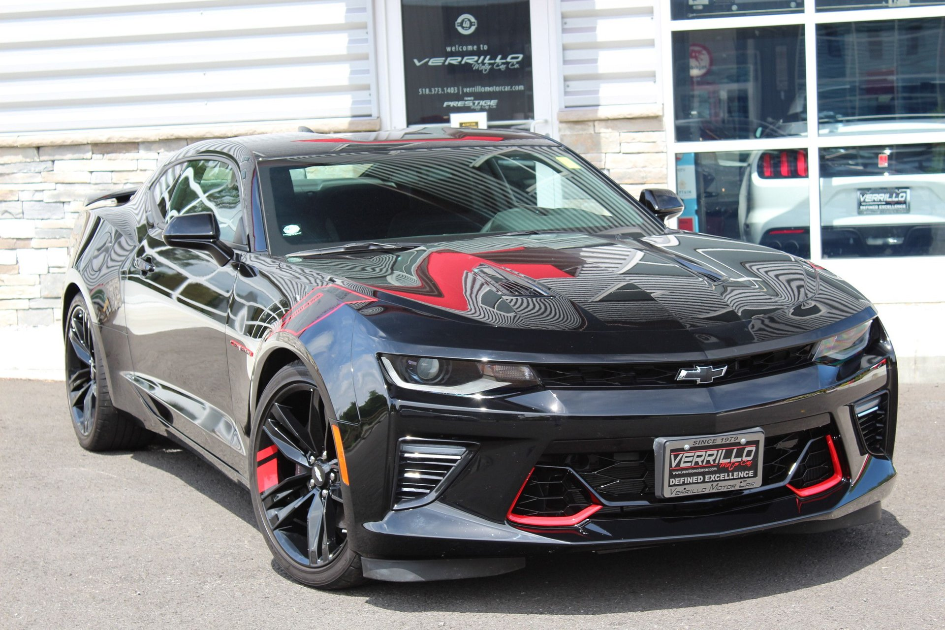 2018 chevrolet camaro ss red line edition