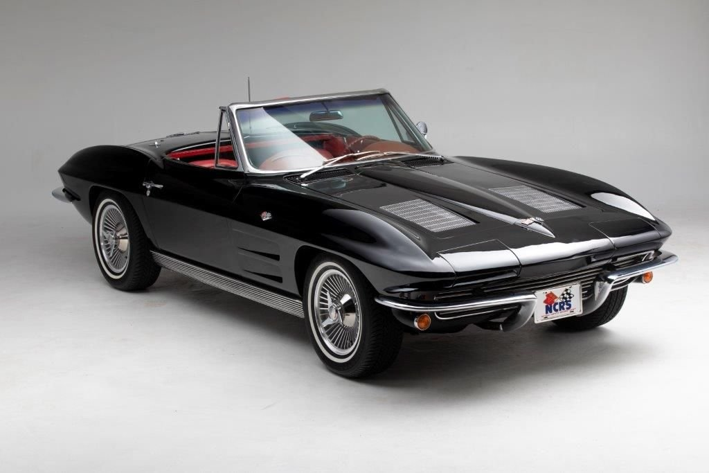 1963 chevrolet corvette convertible 327 340 hp