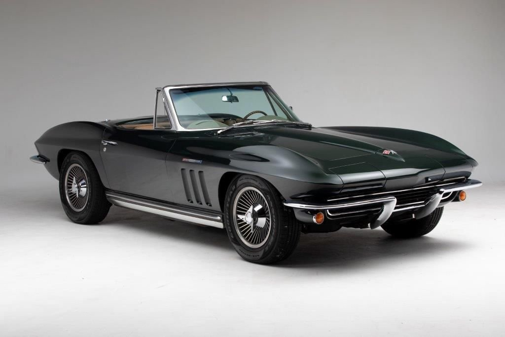 1965 chevrolet corvette fuelinjection 327 375hp