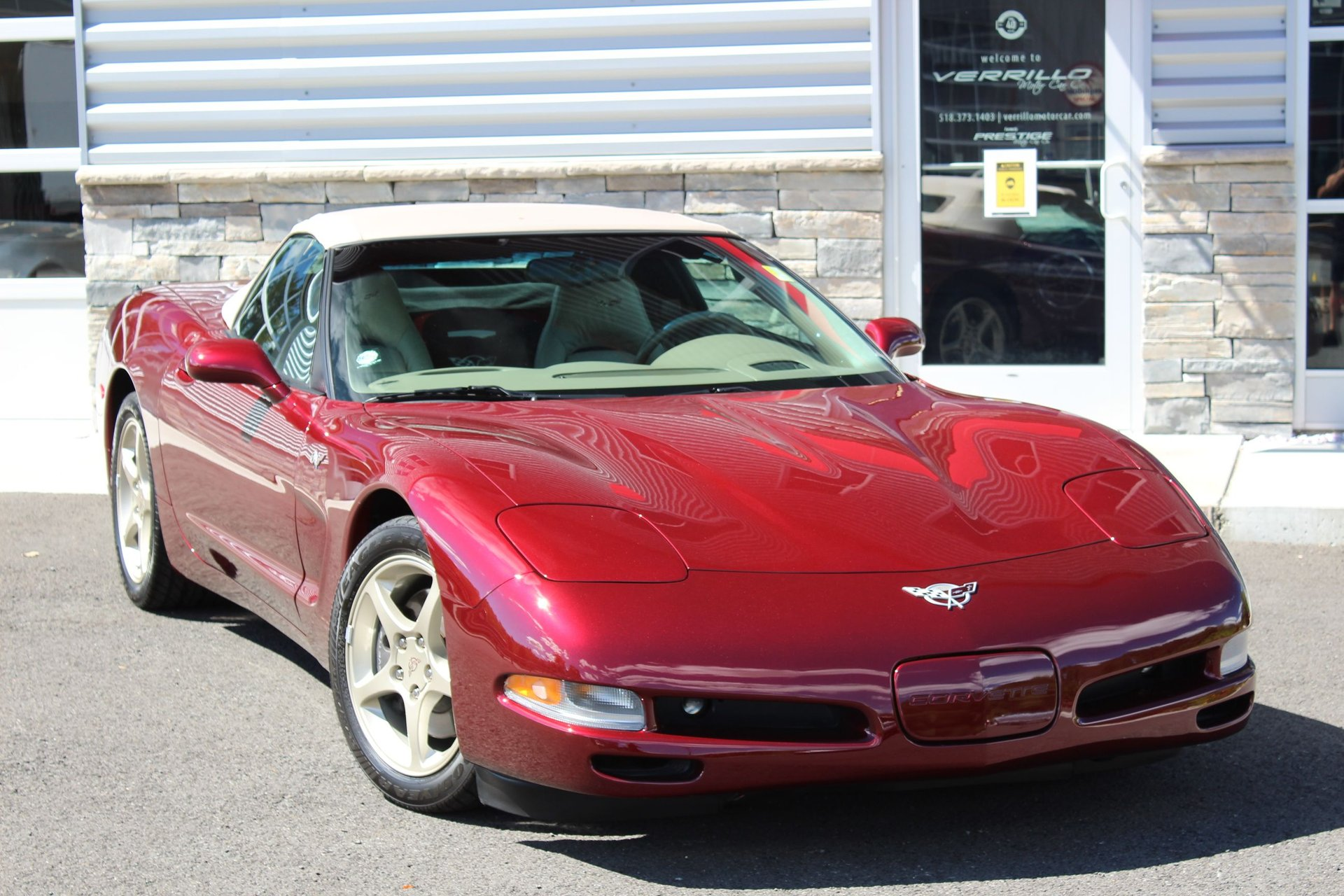 2003 chevrolet corvette 50th annversary convertible
