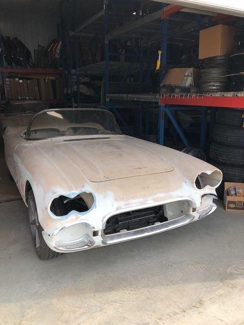 1961 chevrolet corvette 2dr conv