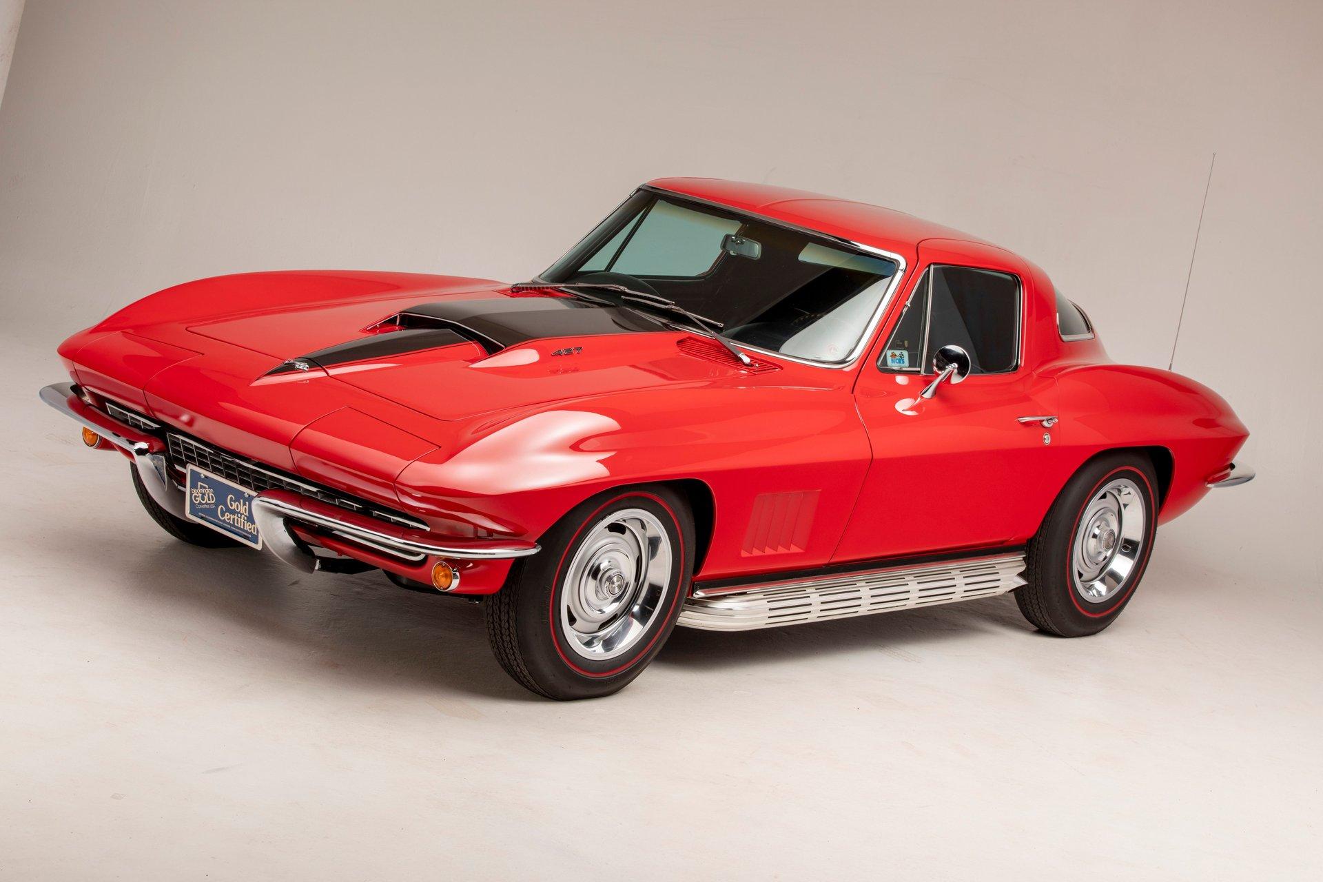 1967 chevrolet corvette coupe 100 pt