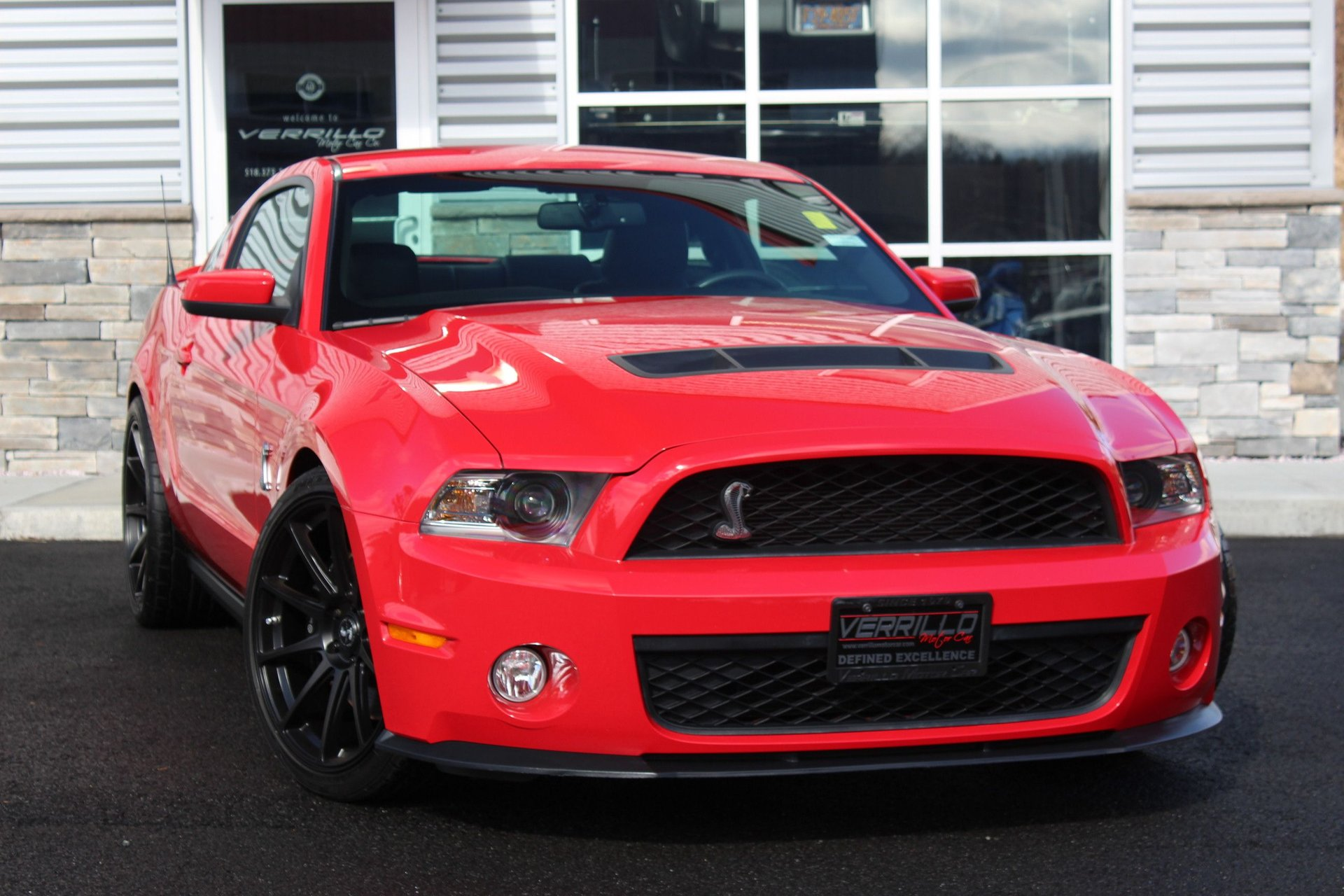2010 ford mustang shelby gt 500 supercharged