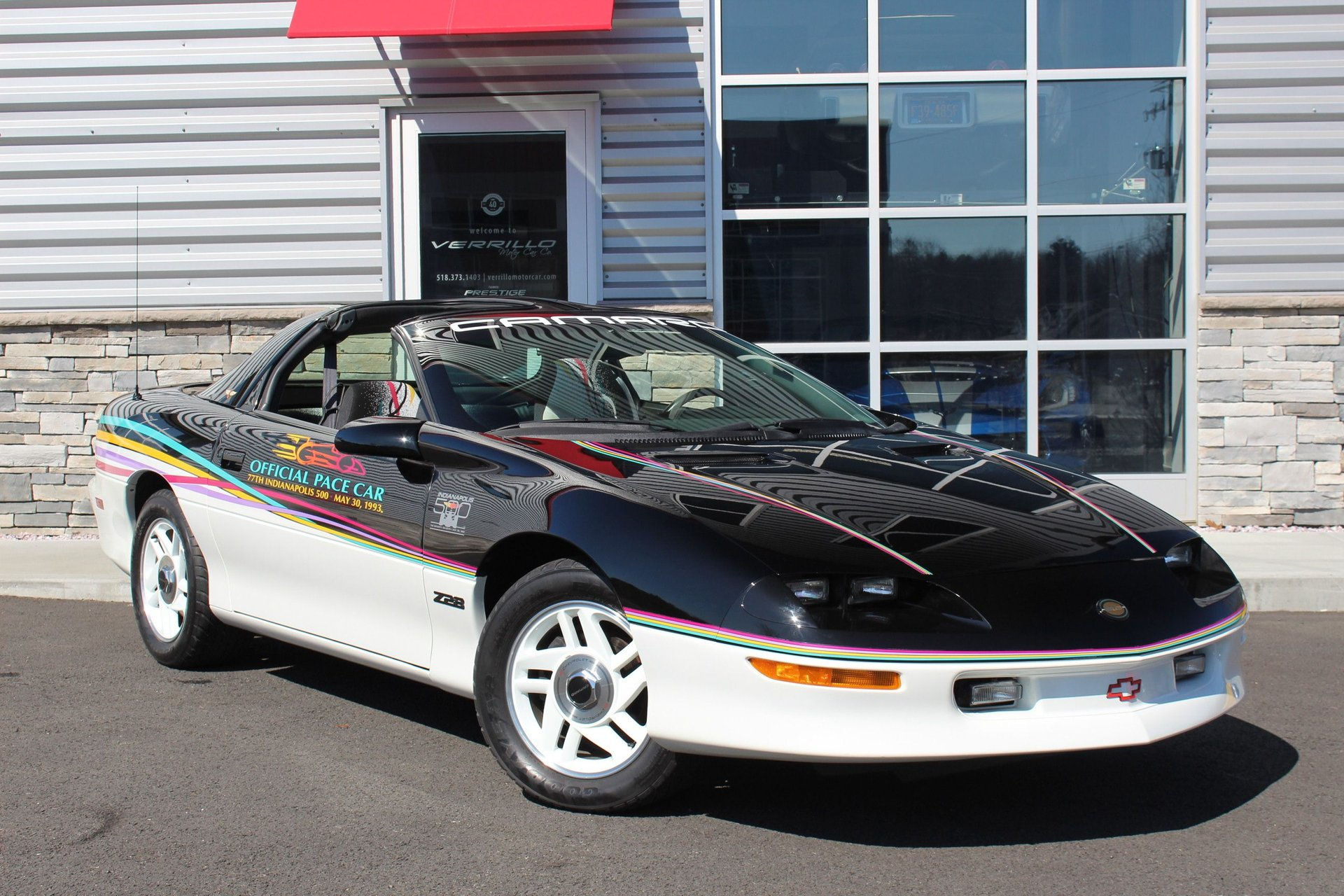 1993 chevrolet camaro z28 indianapolis 500 pace car