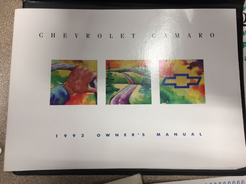 1993 Chevrolet Camaro 44