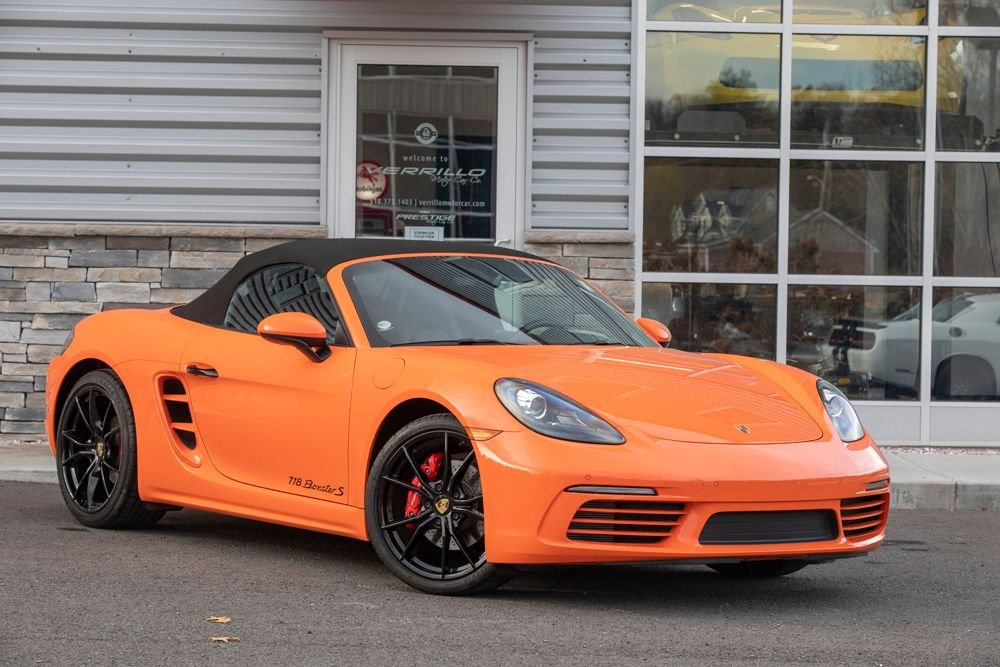 2018 porsche boxster s 6 speed manual