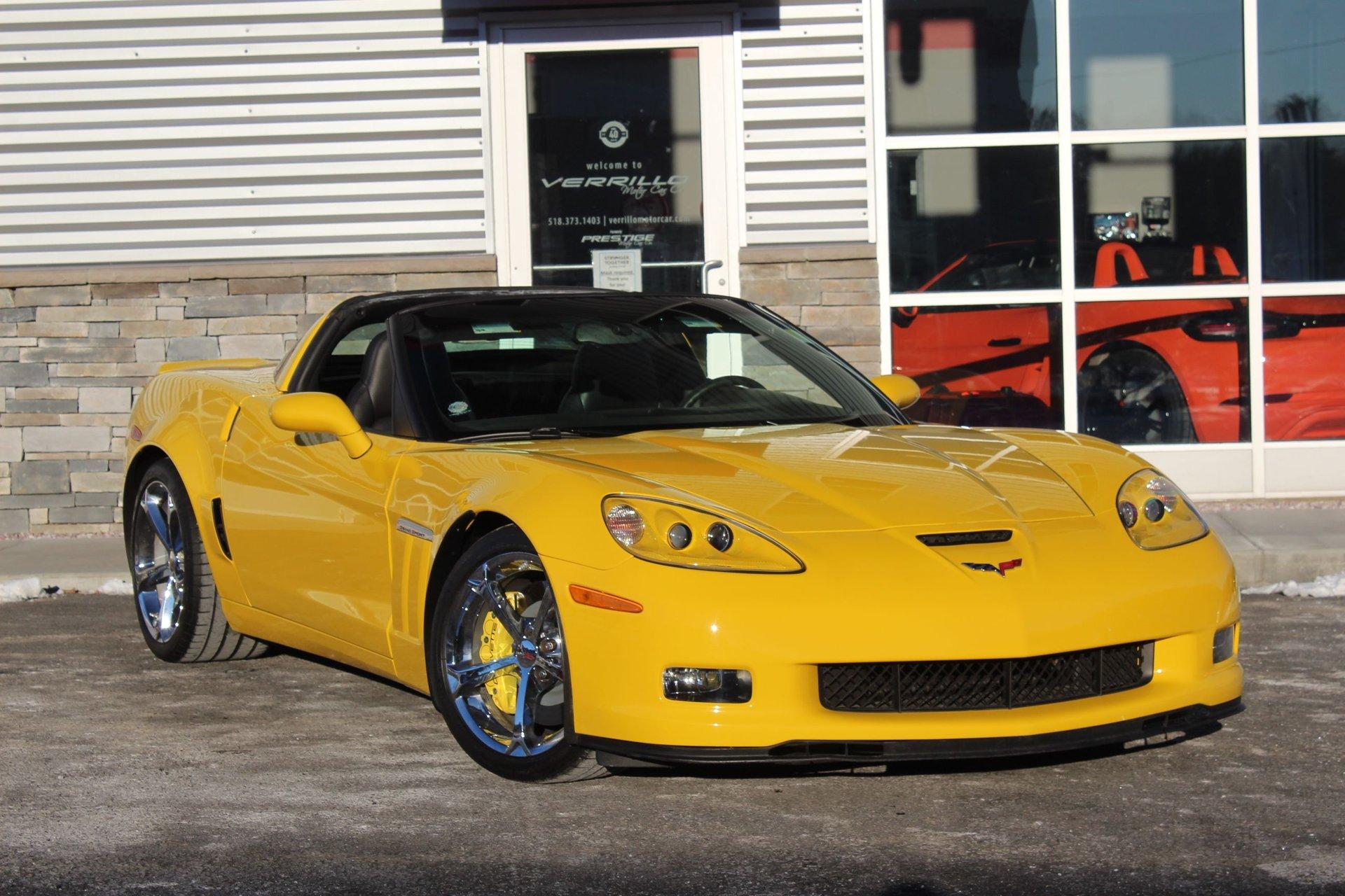 2010 chevrolet corvette grand sport coupe w 3lt