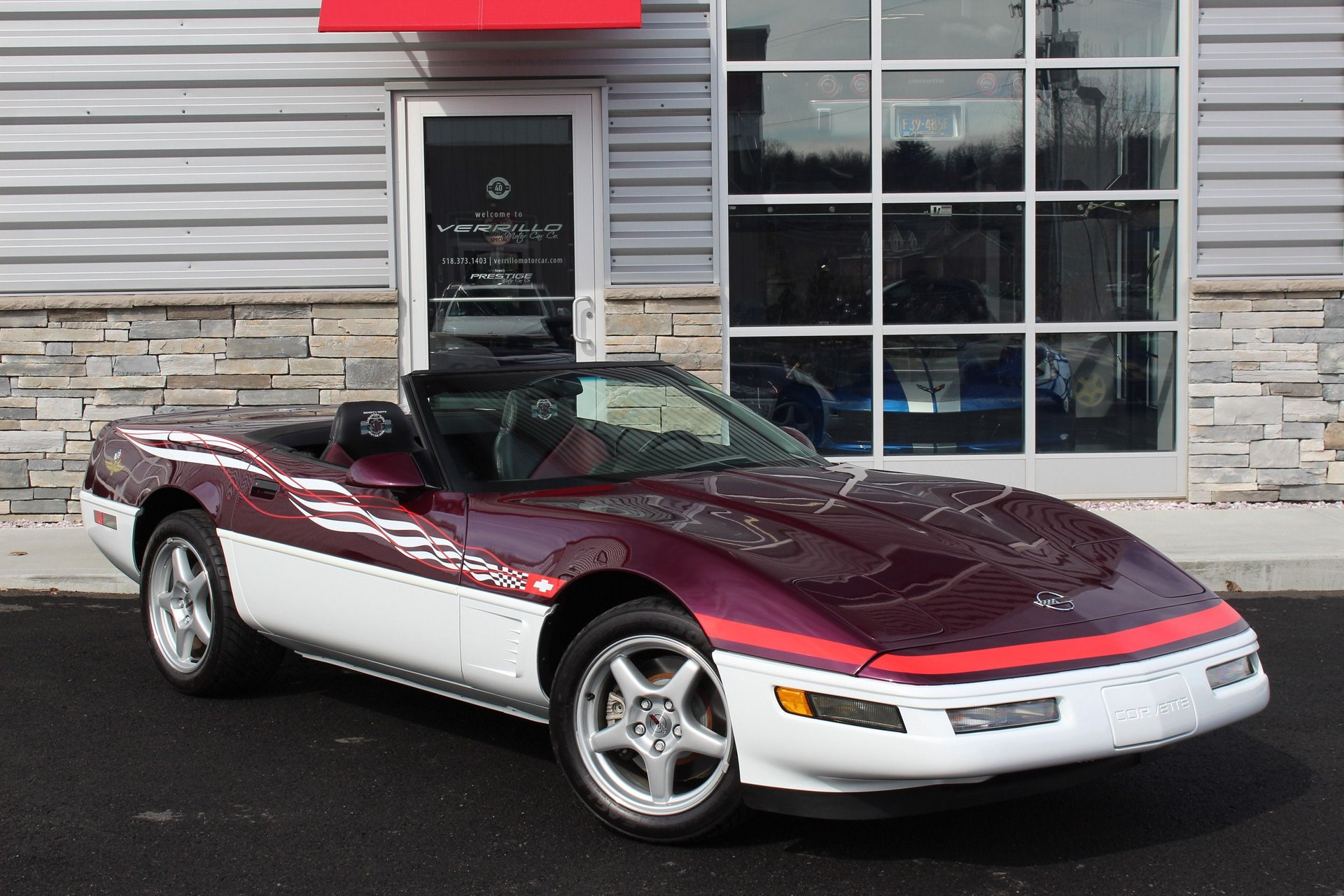1995 chevrolet corvette indianapolis 500 pace car